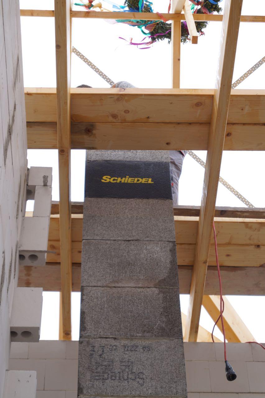 Aufbau Schornstein – 04