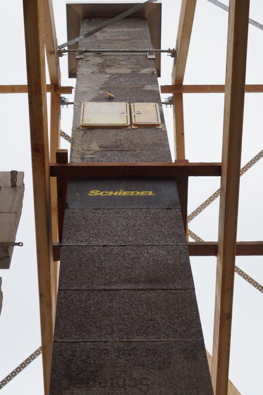 Aufbau Schornstein – 07