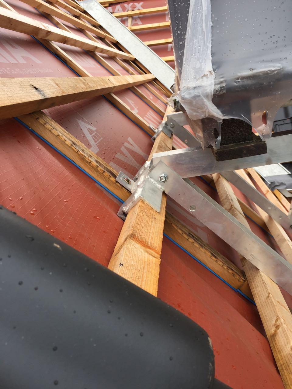 Beginn Dacheindeckung – 3