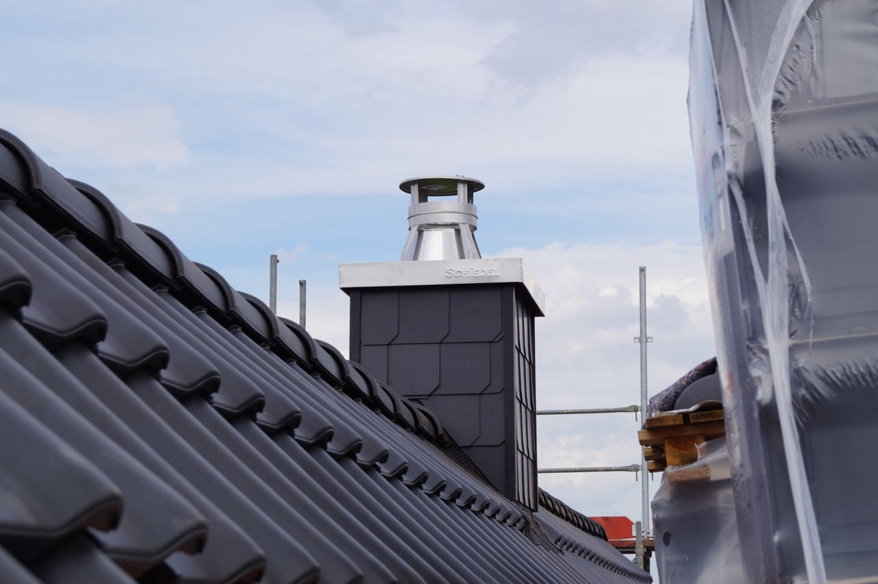 Beginn Dacheindeckung – 4