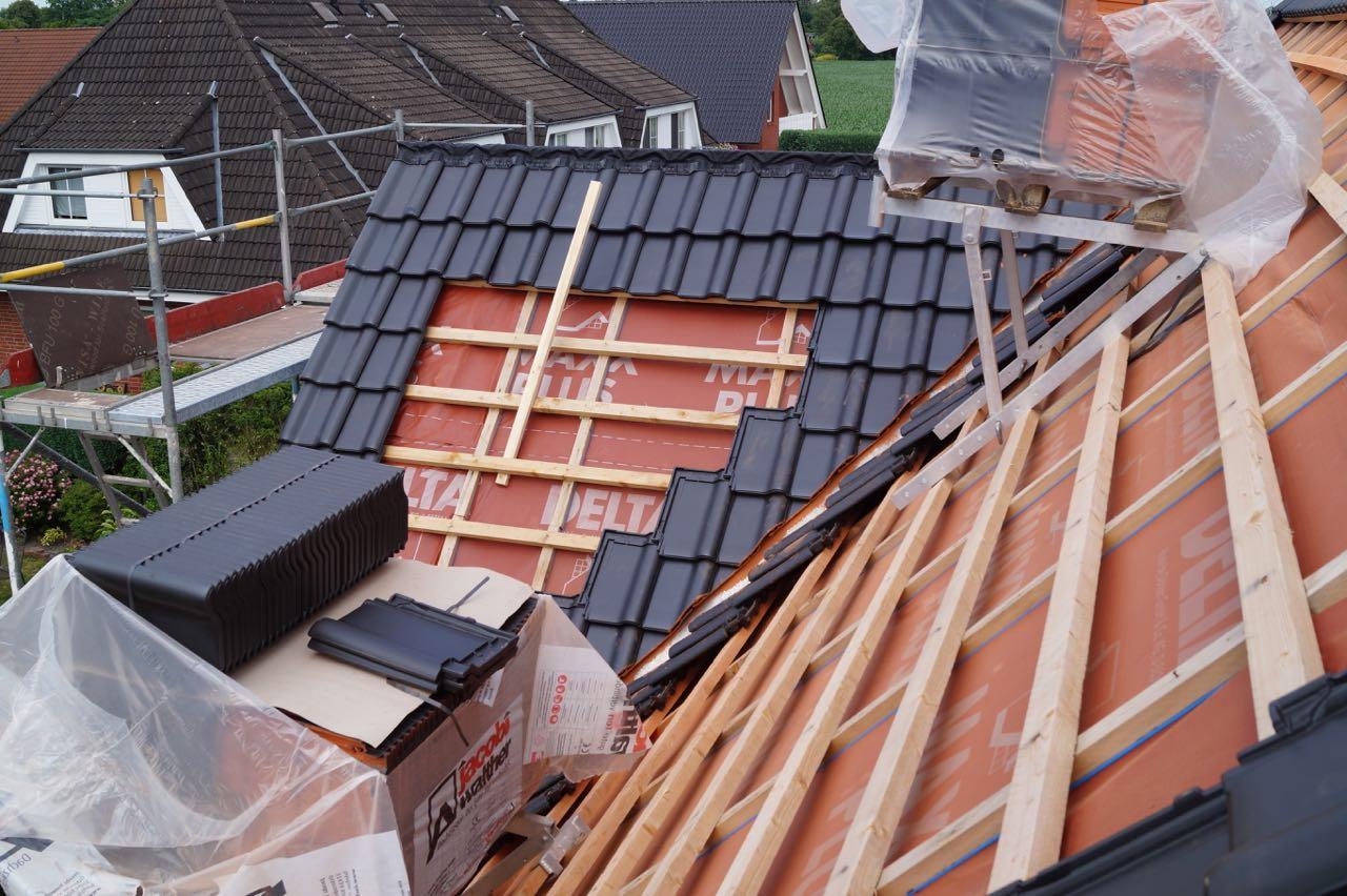 Beginn Dacheindeckung – 5