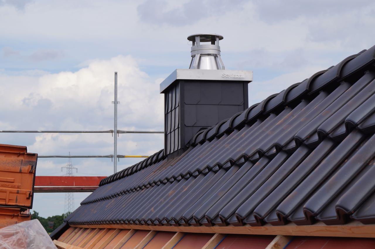 Beginn Dacheindeckung – 6