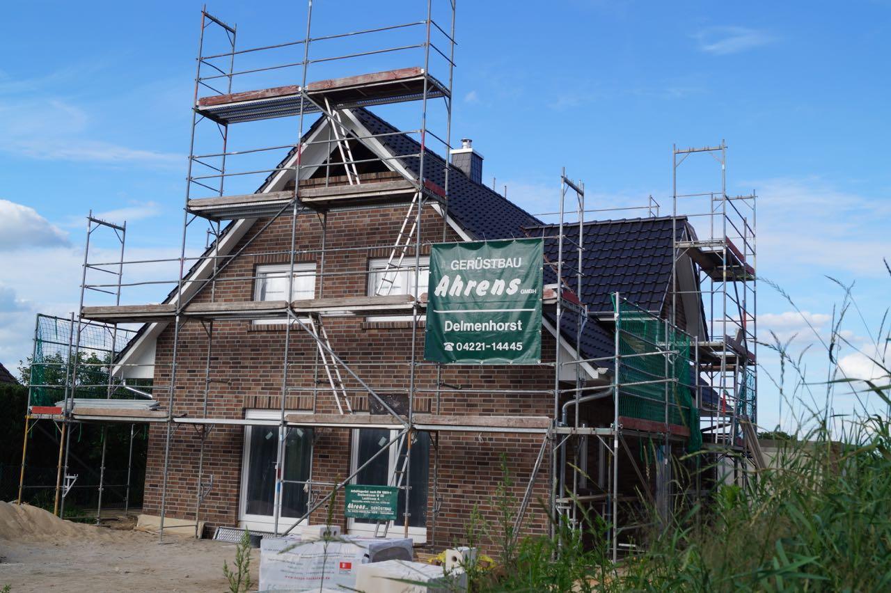 Dach eingedeckt – 1