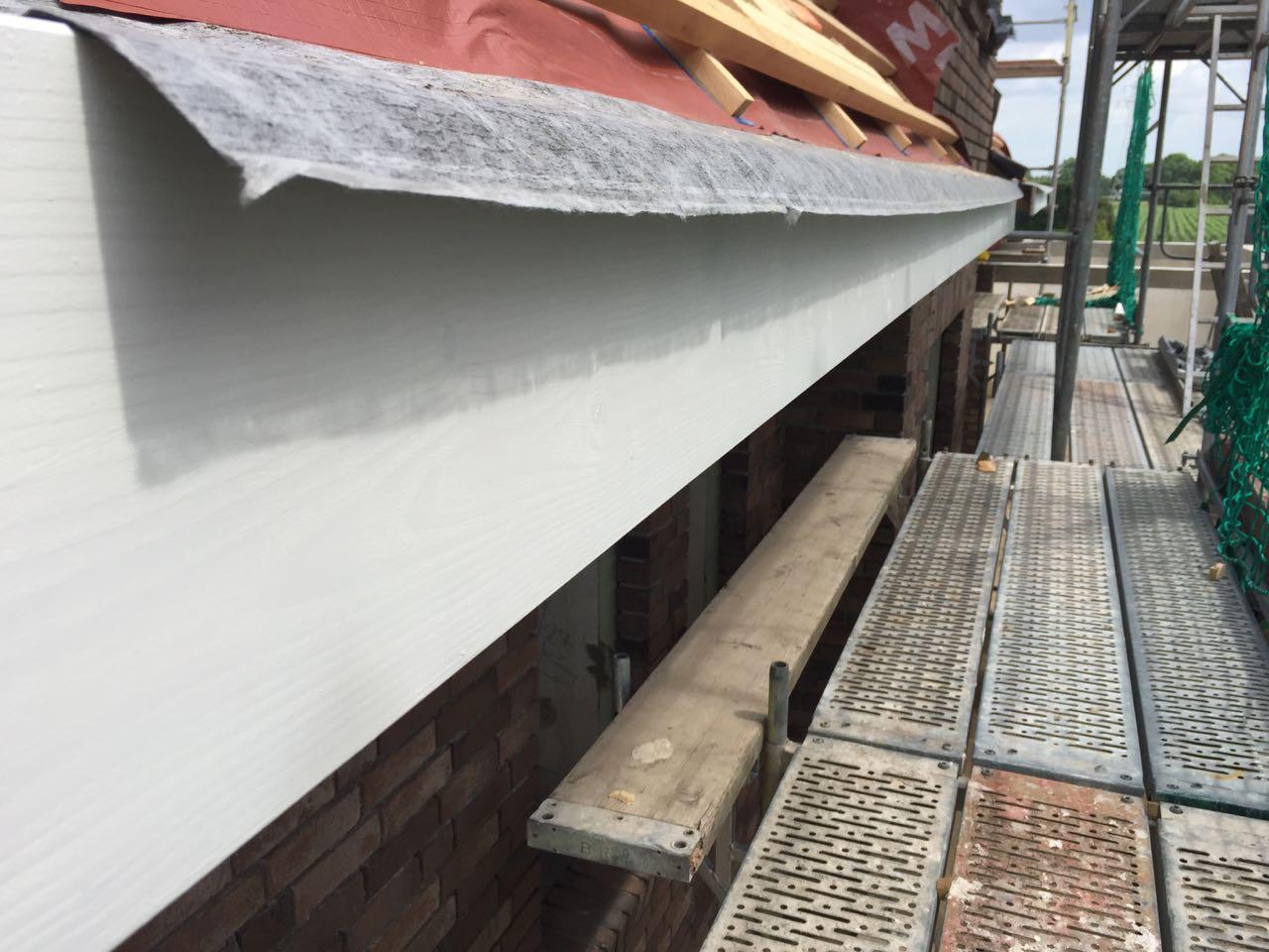 Dachüberstände streichen – 1