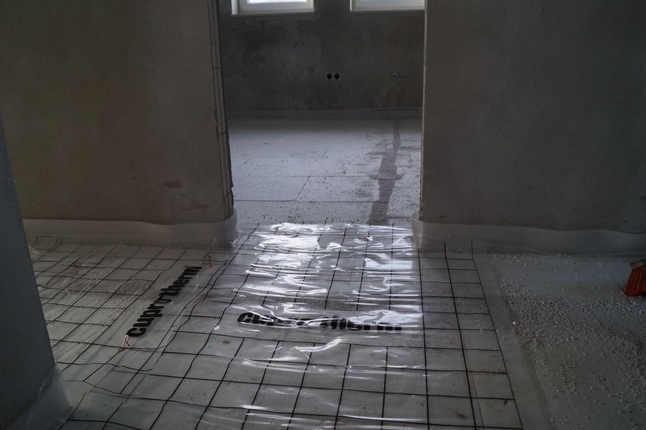 Fußbodenheizung – 03