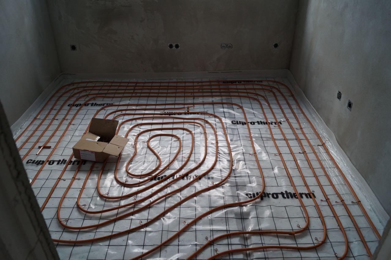 Fußbodenheizung – 08